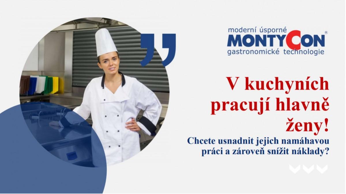 Jak ulehčit ženám v kuchyni jejich práci